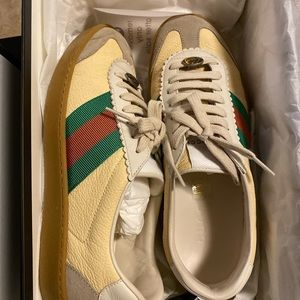 $650 Gucci sneakers shoes ,36.5, 100% authentic